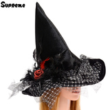 魔女帽子 薔薇&ラメチュール