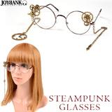 ★Alice world★スチームパンク 歯車デザイン眼鏡
