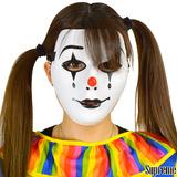 道化師の仮面 ピエロ ハロウィン 仮装