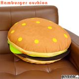 リアル 3D ハンバーガー ドーナツ クッション