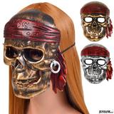 海賊の仮面 ゴーストパイレーツマスク 2color ハロウィン 仮装 パーティー...