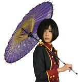 桜舞う 桃色 舞傘 紙傘 和傘 和風 小道具 踊り コスプレアイテム