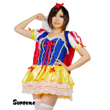 【送料無料】おとぎ話のお姫様 白雪姫 スノーホワイト ミニワンピースセット