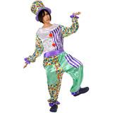 ピエロ ホワイト ミント 道化師 男女兼用 ユニセックス 仮装 コスチューム