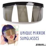 スペースサングラス オーバーサングラス UV パーティ フェス サイバー