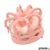 ピンク ファー 王冠 ミニクラウン コスプレ 小物 ヘアアクセサリー 髪飾り ヘ...