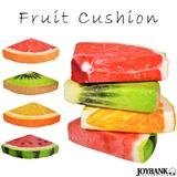 4つ切り クッション 枕 インテリア 雑貨 快眠 フルーツ 果物 三角 4種類