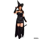 黒猫魔女 キャットウィッチ セクシー 魔女 コスチューム 仮装 ハロウィン コス...